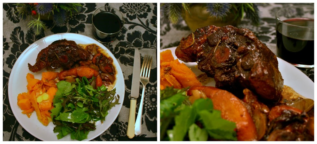 Comforting Suppers: Wintry Oxtail Glazed with Red Wine, Orange, and ...