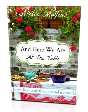 And Here We Are at the Table Cookbook