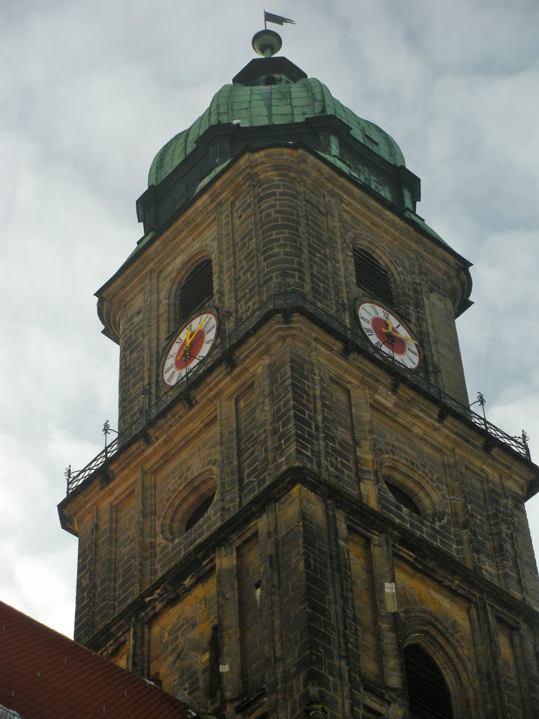 Climbing the Clock Tower in Amberg