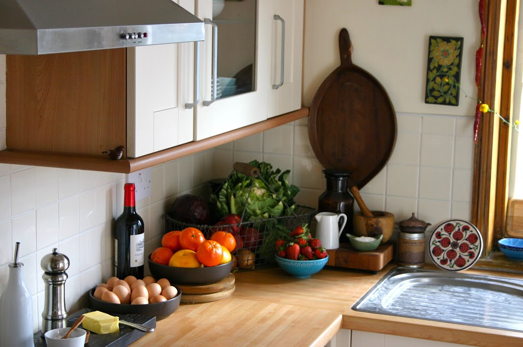 The Kitchen:  How to Make it Look Like Old