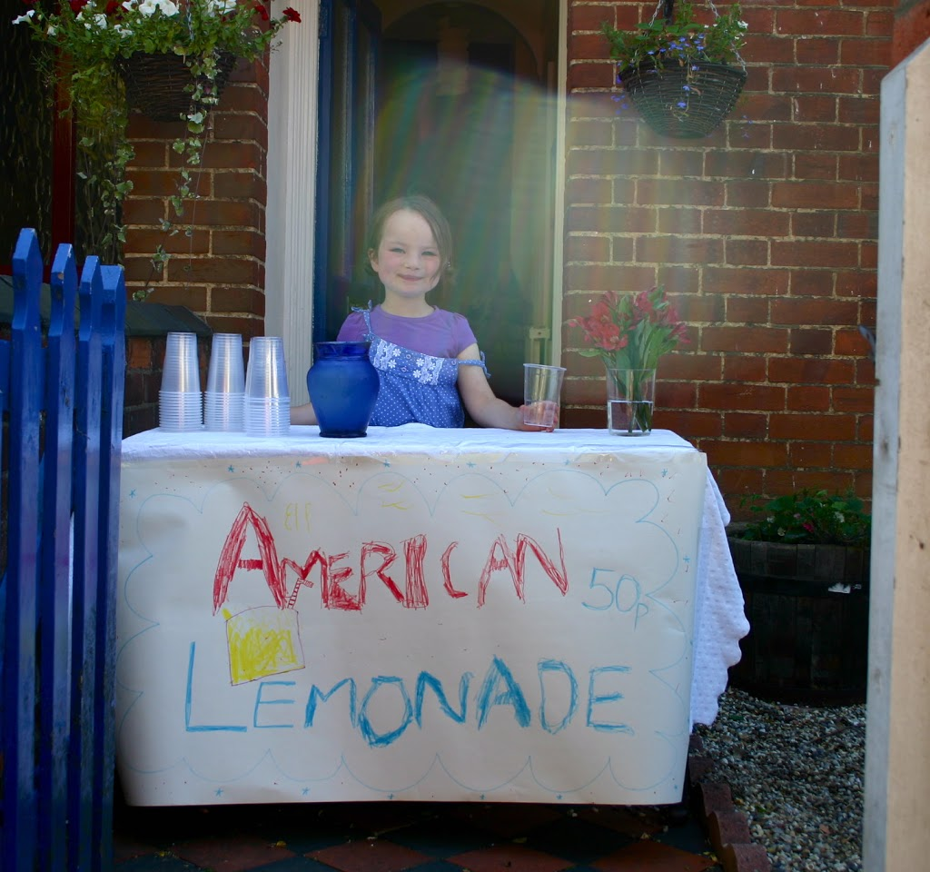 A Lemonade Stand– Bringing a Bit of American Childhood to Bury St. Edmunds