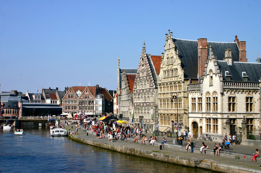 A Boat Tour of Ghent!