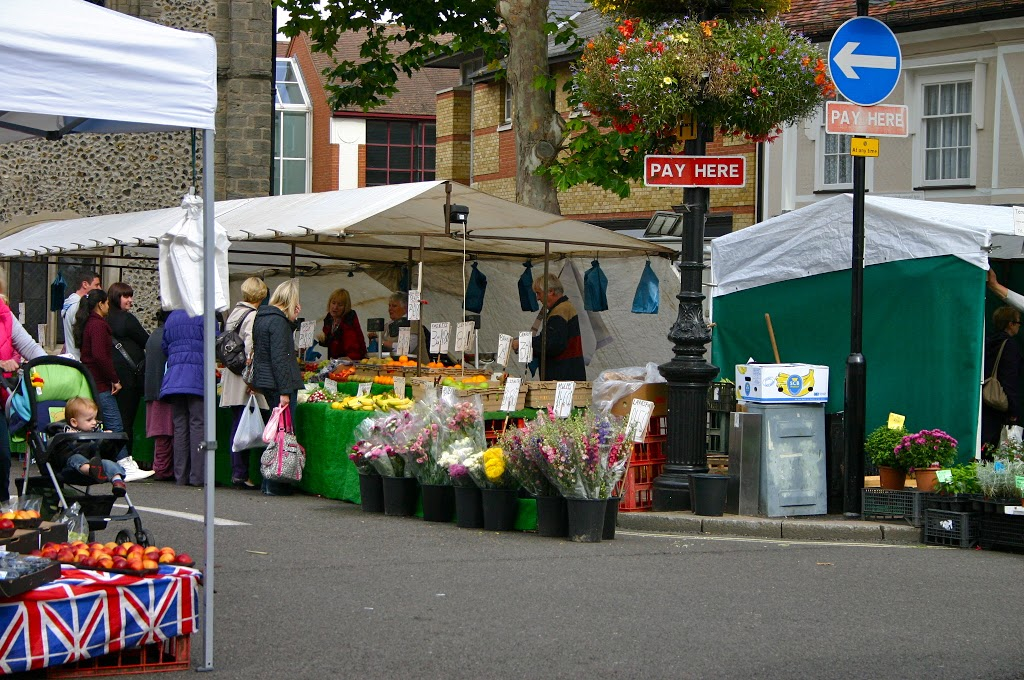 What I Love About Where I Live: Market Days in Bury St. Edmunds