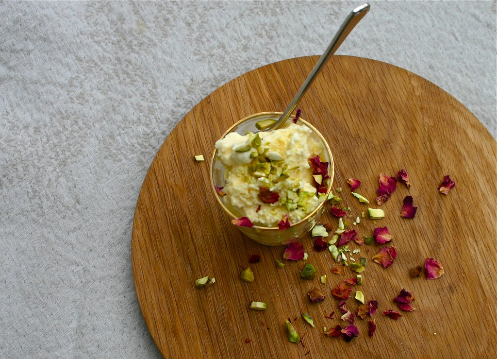 Saffron & Rose Persian Love Ice Cream