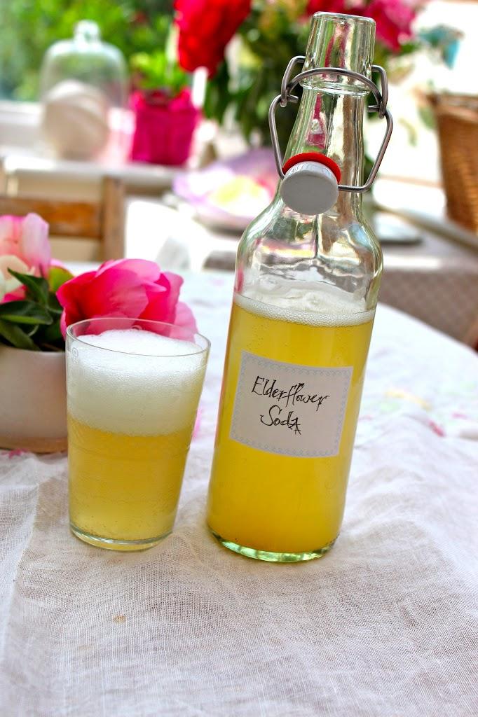 Let's Make Elderflower Soda (It's a probiotic, too!)