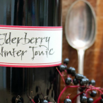 How to Make Elderberry Winter Tonic