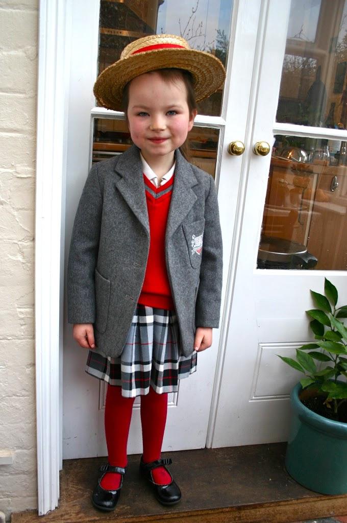 English Schoolgirl's Wardrobe