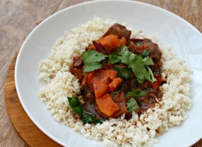 An Easy Moroccan Beef Stew with Lemons and Butternut Squash