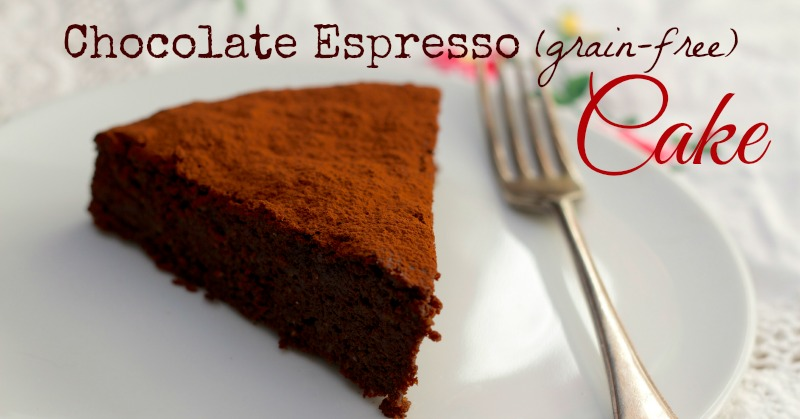 Chocolate Espresso Cake (Grain-free)
