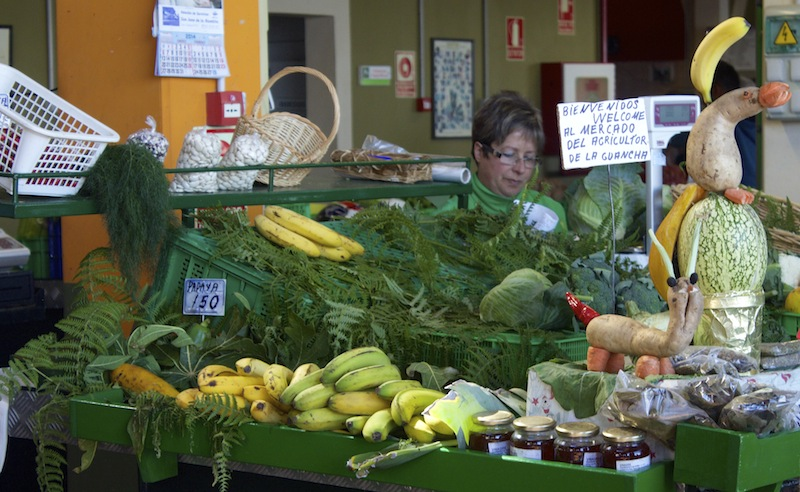 Mercadillo Agricultor– An Open Market in Tenerife