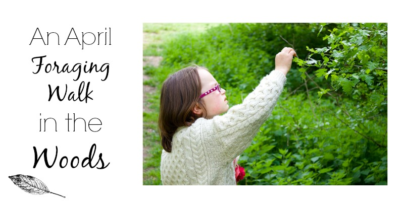 A Foraging Walk in April