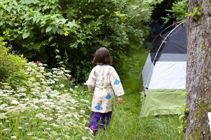 Camping at Home– A Fun & Easy Family Adventure