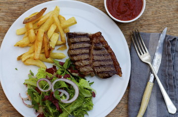 Steak Frites– the Perfect Celebratory Meal