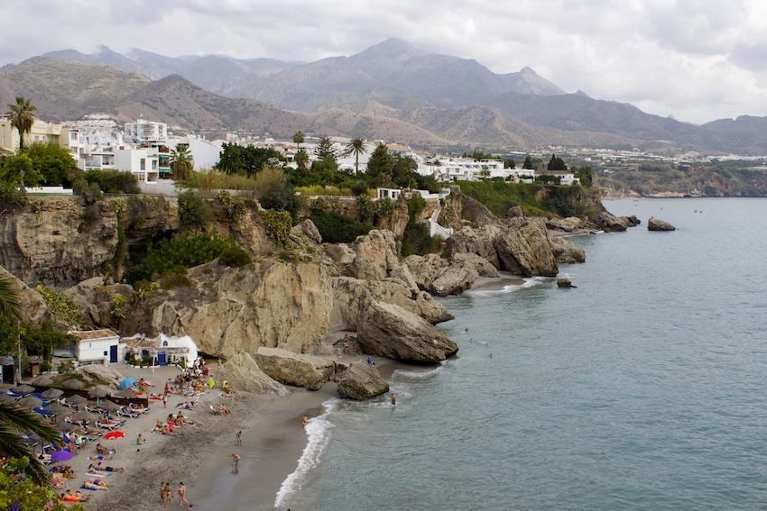 A Stop at the Balcony Of Europe in Nerja, Spain (Balcon de Europa)