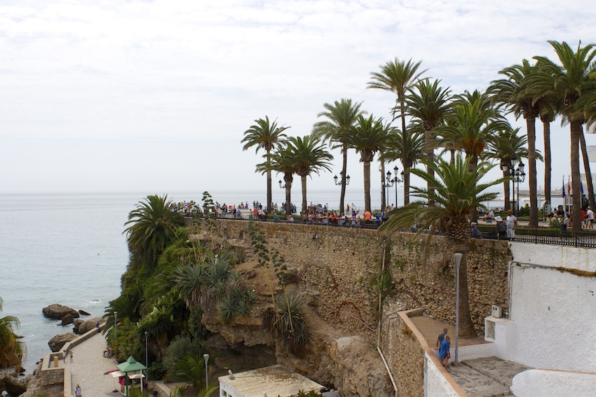 The mirador in Balcon de Europa, Nerja