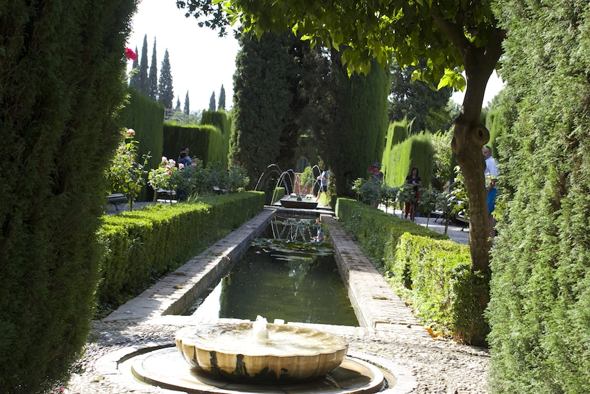 A Stroll Through the Generalife Gardens at the Alhambra