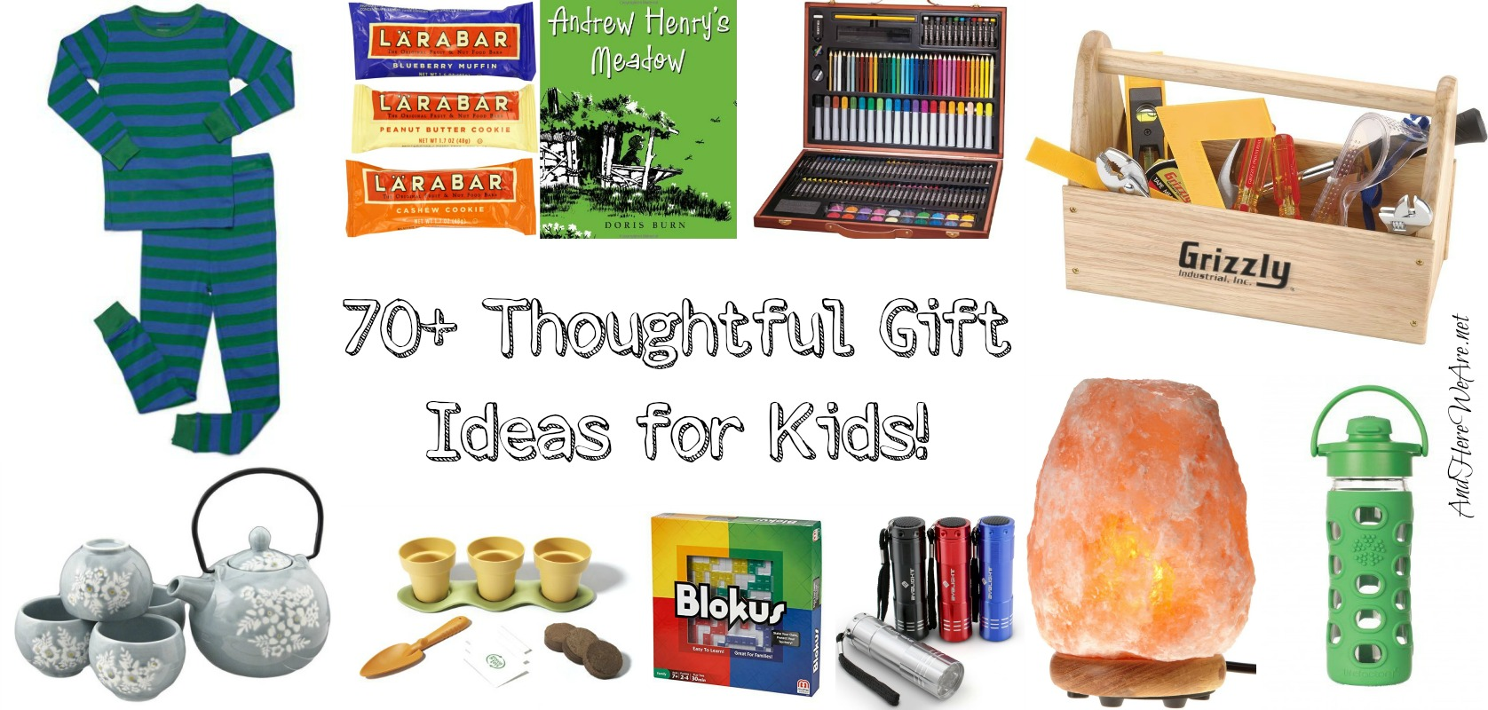 Thoughtful Gifts for Children (Alternative to Toys!)