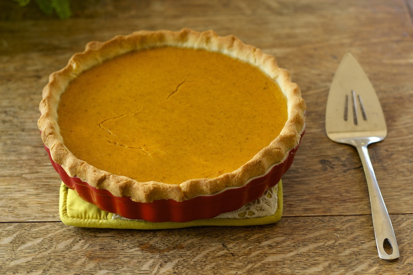 Nourishing Pumpkin Pie