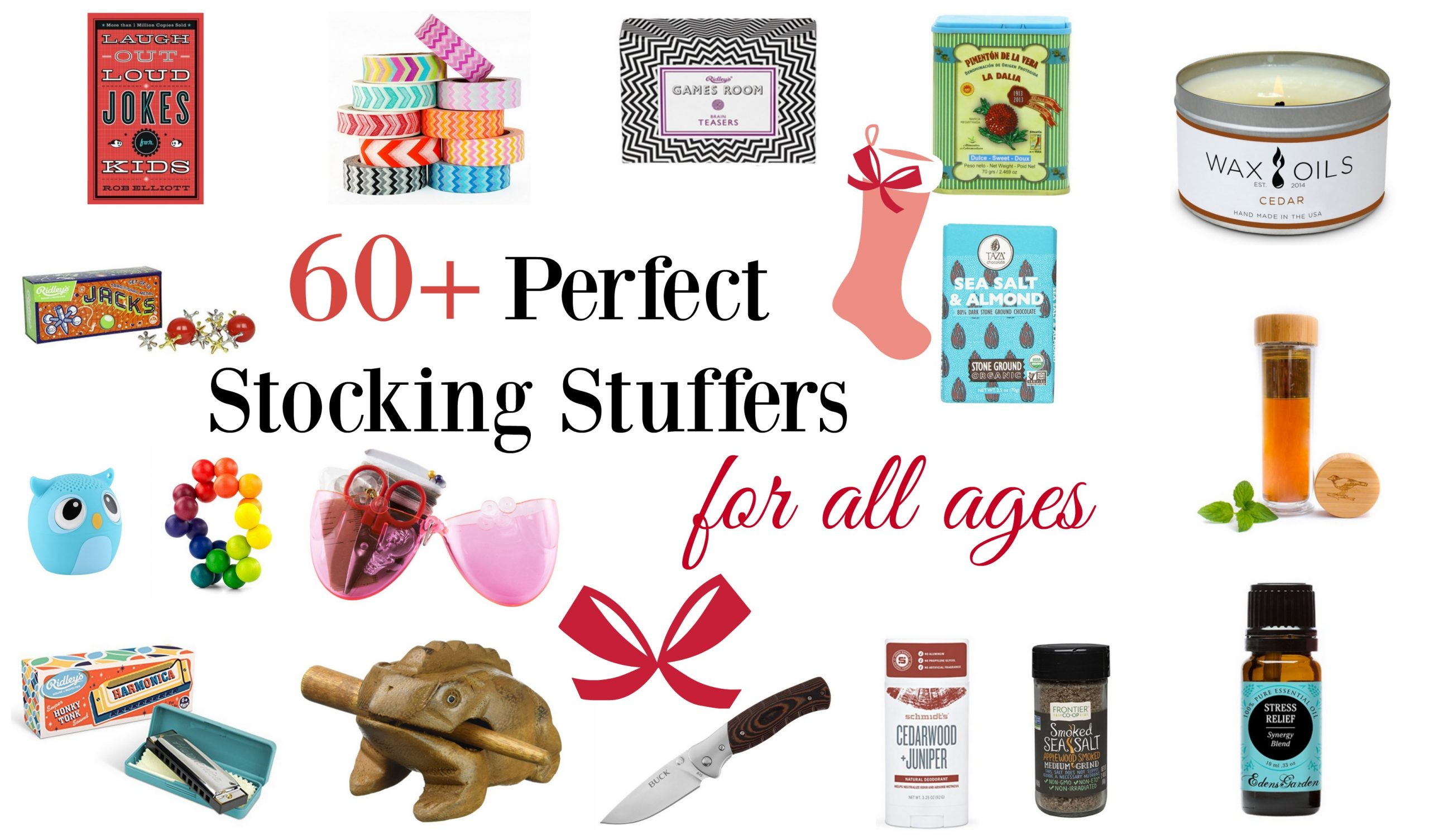 60+ Perfect Stocking Stuffer Ideas