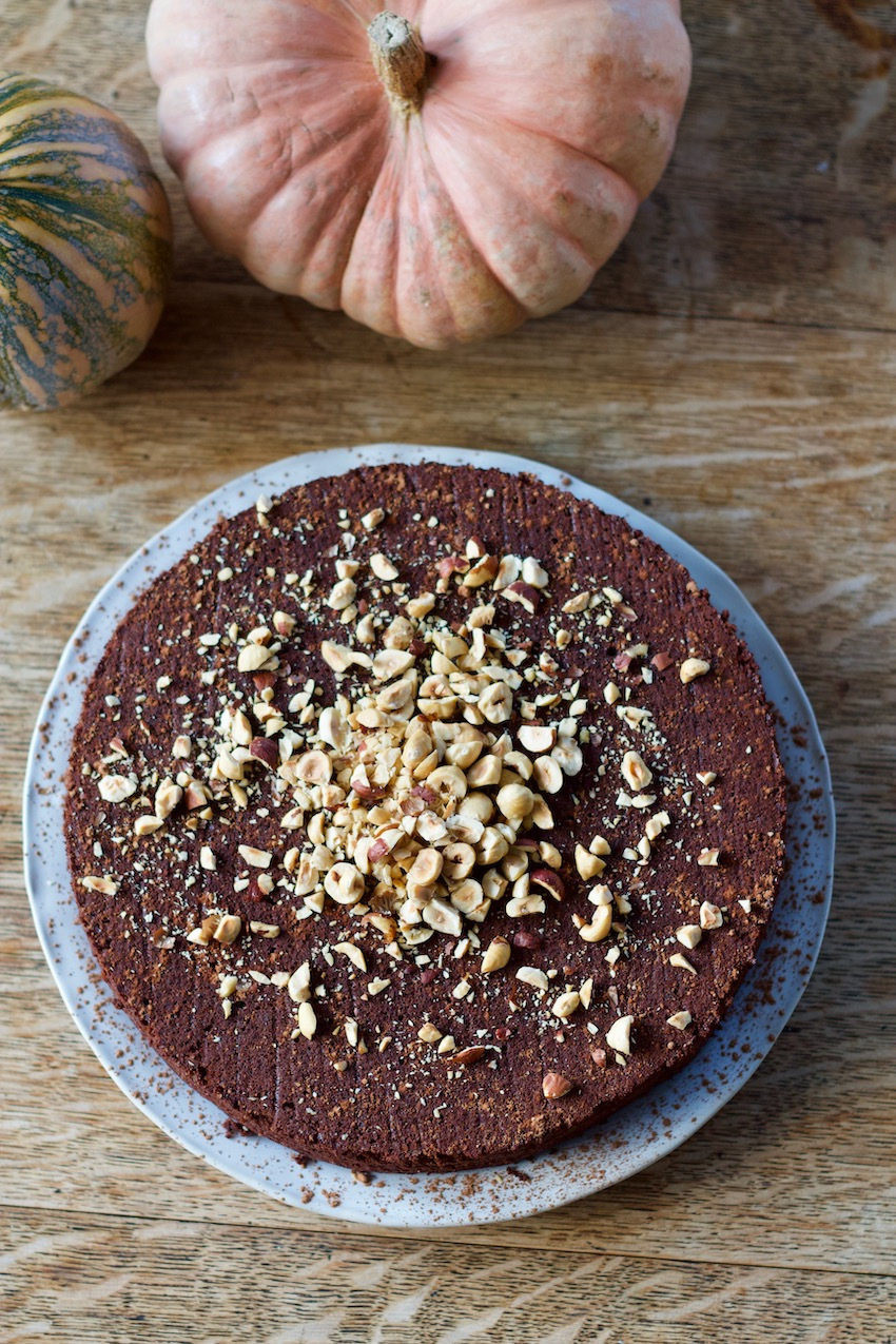 Chocolate Hazelnut Cake (Grain-Free)